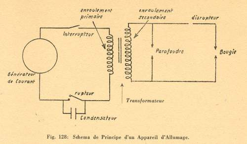 L 39 allumage des moteurs explosion - Fonctionnement d un condensateur ...